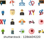 color flat icon set   holy... | Shutterstock .eps vector #1286604220