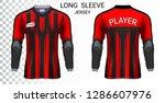 long sleeve soccer jerseys  t...   Shutterstock .eps vector #1286607976