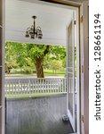Open Door To The Front Porch...