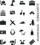 solid black vector icon set  ... | Shutterstock .eps vector #1286613073