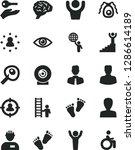 solid black vector icon set  ...   Shutterstock .eps vector #1286614189