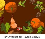 autum      s items | Shutterstock .eps vector #128665028