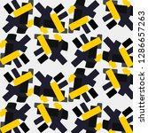 abstract vector background.... | Shutterstock .eps vector #1286657263