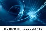 abstract blue background...   Shutterstock . vector #1286668453