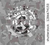 bale on grey camo pattern | Shutterstock .eps vector #1286674153