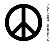 peace  friendship  pacifism ... | Shutterstock .eps vector #1286679043