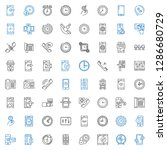 dial icons set. collection of... | Shutterstock .eps vector #1286680729