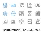 wealth icons set. collection of ... | Shutterstock .eps vector #1286680750