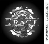 tract on grey camo texture | Shutterstock .eps vector #1286682073