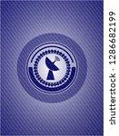 radar icon inside badge with... | Shutterstock .eps vector #1286682199