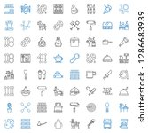 utensil icons set. collection... | Shutterstock .eps vector #1286683939