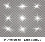 white glowing light explodes on ... | Shutterstock .eps vector #1286688829