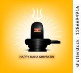 maha shivratri   shivratri     Shutterstock .eps vector #1286694916