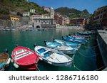 vernazza  italy   july 19  2018 ... | Shutterstock . vector #1286716180