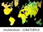 dark blue  yellow vector... | Shutterstock .eps vector #1286718913