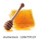 honeycomb in closeup | Shutterstock . vector #1286759119
