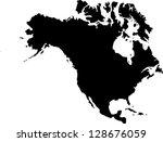 america | Shutterstock .eps vector #128676059