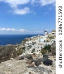 santorini island  greece  ... | Shutterstock . vector #1286771593