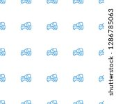 concrete mixer icon pattern...   Shutterstock .eps vector #1286785063