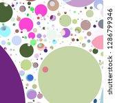 multicolored geometric circle... | Shutterstock . vector #1286799346
