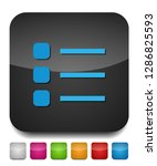 list icon   content view... | Shutterstock .eps vector #1286825593