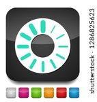 vector loading progress  ... | Shutterstock .eps vector #1286825623