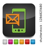 vector mobile icon with text... | Shutterstock .eps vector #1286825680