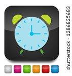 vector clock alarm illustration ... | Shutterstock .eps vector #1286825683