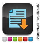 vector download file icon  ... | Shutterstock .eps vector #1286825689