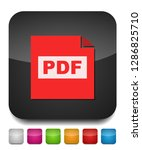 download pdf document icon  ... | Shutterstock .eps vector #1286825710