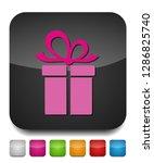 vector gift box illustration... | Shutterstock .eps vector #1286825740