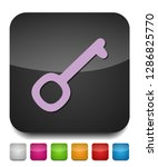 key icon   vector key symbol.... | Shutterstock .eps vector #1286825770
