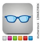 vector eye glasses isolated ... | Shutterstock .eps vector #1286825806