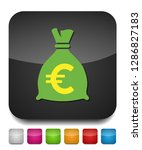 money bag   currency symbol ... | Shutterstock .eps vector #1286827183