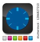 target aim icon  vector target... | Shutterstock .eps vector #1286827213