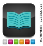open book icon. education book... | Shutterstock .eps vector #1286827216