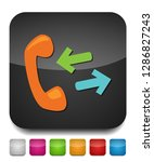 phone sign icon  call center ... | Shutterstock .eps vector #1286827243