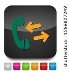 phone sign icon  call center ... | Shutterstock .eps vector #1286827249