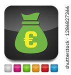 euro money bag   currency... | Shutterstock .eps vector #1286827366