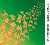 butterflies. flying butterflies....   Shutterstock .eps vector #1286834536