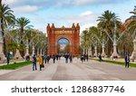 barcelona  spain   december 14  ... | Shutterstock . vector #1286837746