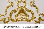 Golden Monogram Of The Grand...