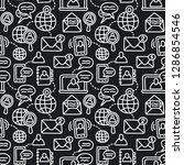 illustration of communication... | Shutterstock .eps vector #1286854546