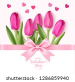 happy valentine's day design... | Shutterstock .eps vector #1286859940