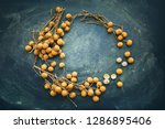 longan fruit referred to as... | Shutterstock . vector #1286895406