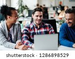 multi ethnic colleagues in a... | Shutterstock . vector #1286898529