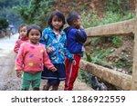 nong khiaw  laos   december 13  ... | Shutterstock . vector #1286922559