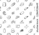 thumbnails set. background for... | Shutterstock .eps vector #1286928649