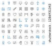 success icons set. collection... | Shutterstock .eps vector #1286931343