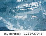 the texture of the ice. the... | Shutterstock . vector #1286937043
